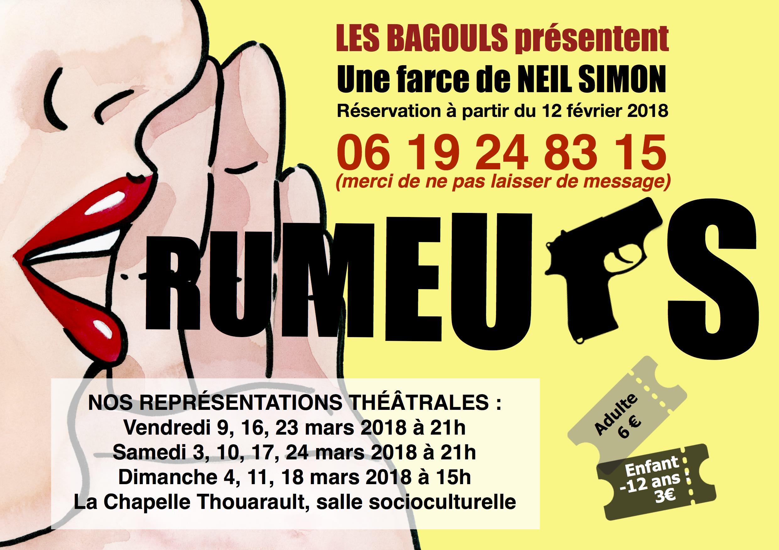 Rumeurs, pièce de théâtre de Neil Simon