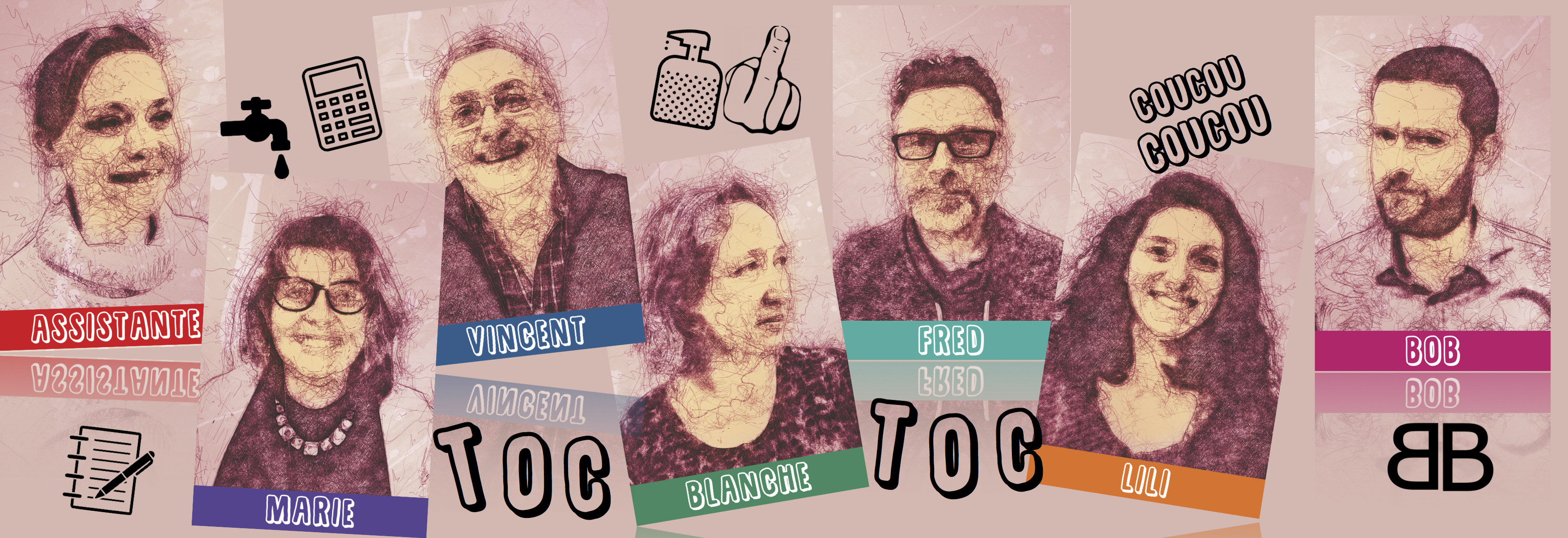 Toc Toc, comédie de Laurent Baffie